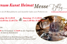Flyer Genuss Kunst Heimat Messe Oberkirch