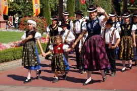 Traditional clothes in Black Forest