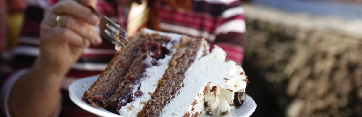Black Forest gateau - famous German cake