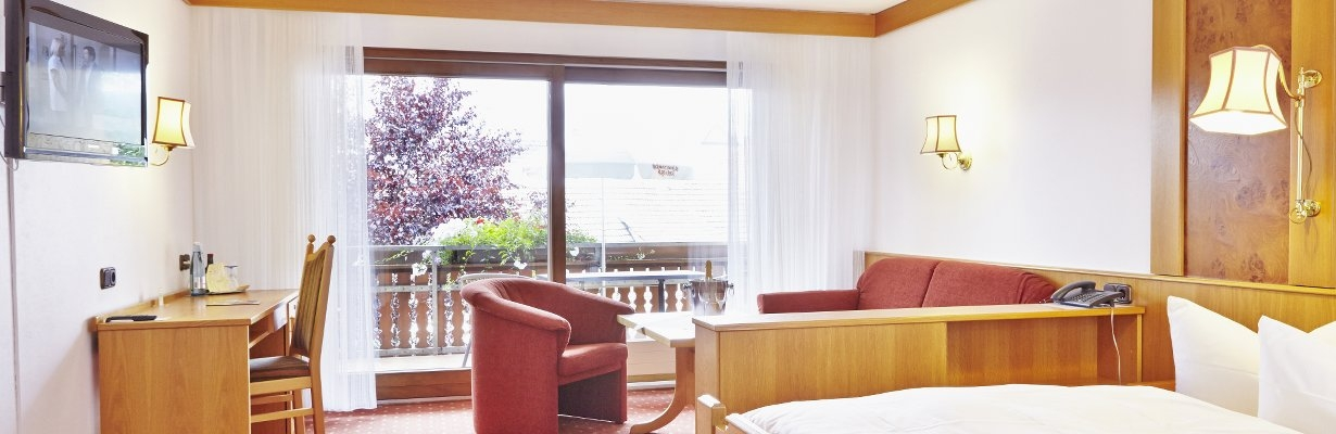 The rooms of Hotel Pflug, Black Forest