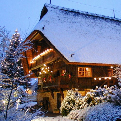 Black Forest Christmas - House