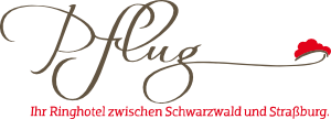Logo Hotel Restaurant Pflug, Oberkirch, Black Forest, Germany